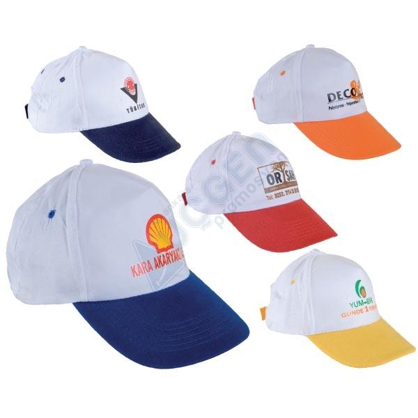 Hediye 2.Kalite %50 Pamuk %50 Polyester Şapka