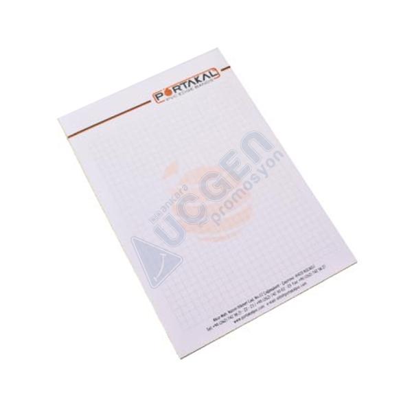 Hediye Kapaksız Altı Karton Bloknot TMBL-04 (10x14 cm)