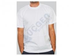 Promosyon 2.Kalite %100 Pamuk Bisiklet Yaka Penye T-shirt Tişört