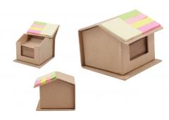 Ankara 6363 Geri Dönüşümlü Ev Şeklinde Notluk Yapışkan Kağıtlı