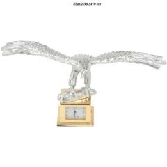 Promosyon Kartal Figürlü Saatli Masa Seti MS-1040