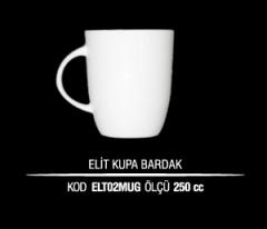Porselen Elit Kupa Bardak ELT02MUG (Seramik Değildir)