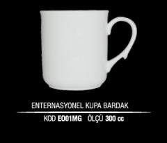 Porselen Enternasyonel Kupa Bardak EO01MG (Seramik Değildir)