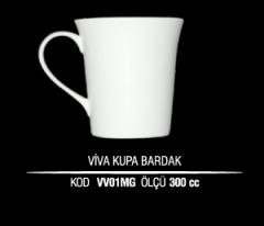 Porselen Viva Kupa Bardak VV01MG (Seramik Değildir)