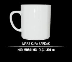 Porselen Mars Kupa Bardak MRS01MG (Seramik Değildir)