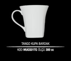 Porselen Tango Kupa Bardak MUGS01TG (Seramik Değildir)