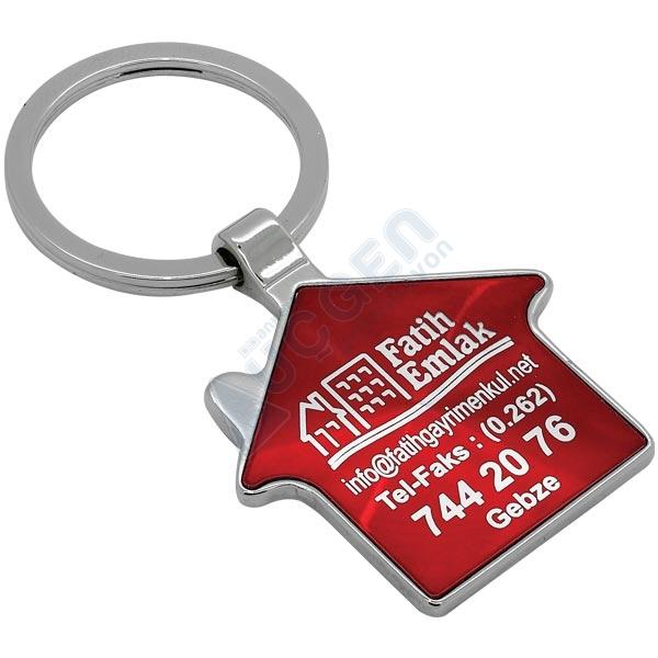 Hediye Lazer Baskılı Anahtarlık AN5610 (Tek Yön)