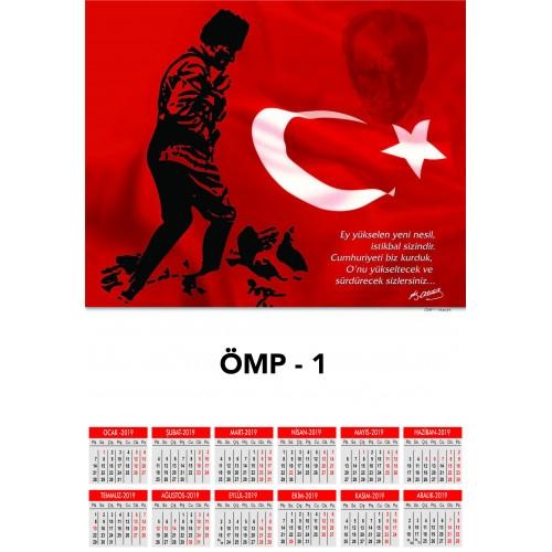 Hediye ÖMP-1 Poster Takvim
