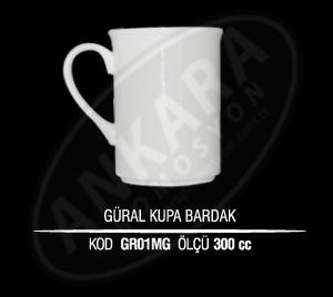 Hediye Porselen Güral/Kütahya Kupa Bardak GR01MG (Seramik Değildir)